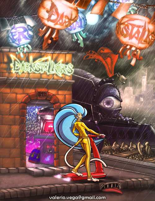 darkstalkers tribute